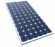 kit Pannello Solare Fotovoltaico Monocristallino 100W camper baita barca batteri