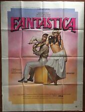 Affiche FANTASTICA Gilles Carle CAROLE LAURE Lewis Furey 120x160cm