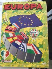 EUROPA : Ediz. PANINI - 1988 : Album completo di 400 figurine
