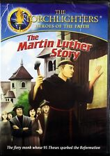 Torchlighters The Martin Luther Story NEW Kids Christian DVD Animated