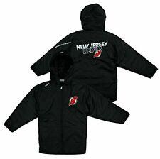 Reebok NHL Youth New Jersey Devils TNT Hooded Winter Jacket - Black