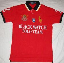 New Mens Ralph Lauren Big Pony Polo Shirt Blackwatch polo team  Size Large