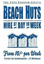 Martin Wiscombe Retro 100% COTONE spiaggia capanne TEA ASCIUGAMANO-gamma di grandi dimensioni in stock