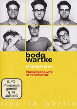 BODO WARTKE - 2 DVD - ACHILLESVERSE - LIVE IN BERLIN