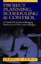 Project Planning Scheduling and Control: A Hands-On Guide to Bringing-ExLibrary