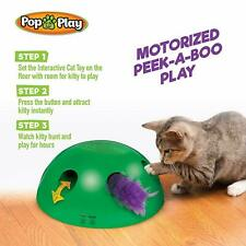 HOT Pop N'Play Interactive Jouet pour Chat Souris Tease Electronique