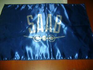 "Saab Vintage 20x30"" Flag Banner Garage Vintage Deco Swedish Turbo Sweden Airplan"