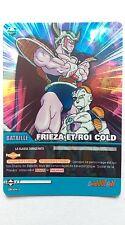 Carte Dragon ball Z Frieza et Roi Cold DB-843 Brillante / HOLO
