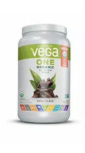 Vega One Organic Meal Replacement Plant Based Protein-Chocolate-17 Servings,1lb