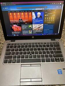 HP Elitebook 820 G2 I7 5600u 16gb RAM 256gb SSD 1080P IPS 12.5 Inch Screen