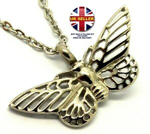 Butterfly Cremation Urn Ashes Necklace Keepsake Pendant for Cremains