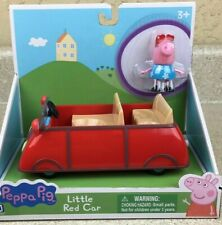 Peppa Pig Little Red Car W/ Figure Vehicle Toy NEW
