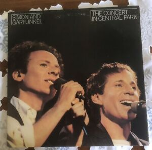 SIMON AND GARFUNKEL DOUBLE VINYL LP RECORD THE CONCERT IN CENTRAL PARK