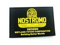 USCSS Nostromo Alien Weyland Yutani Airsoft Paintball PVC Morale Patch