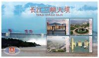Micronesia 2010 - China Expo Three Gorges Dam Stamp- Sheet of 4 - MNH