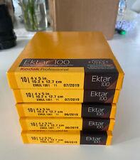 "Kodak Ektar 100 Color print film 4 x 5"",  5x10 sheets boxes, Exp. 6/2019"