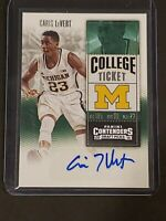 2016 Panini Contenders Auto Caris LeVert RC Autograph Rookie Brooklyn Nets