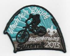 2013 National Jamboree Promo Tent Patch Series, Mountain Biking, Mint!