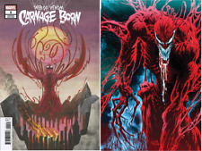 (2018) WEB OF VENOM CARNAGE BORN #1 + BEDERMAN VARIANT COVER SET