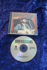 CD.DON WILLIAMS.FOREVER GOLD.CLASSIC COUNTRY.10 TRACKS.MCPS.SAN JUAN MUSIC