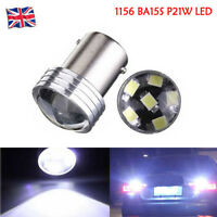 1/2/4/10X 1156 BA15S 6 SMD LED P21W COB Car Reverse Turn Tail Light Bulb White