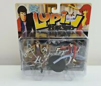 LUPIN THE 3rd ACTION FIGURES BROWN HAT AND COAT