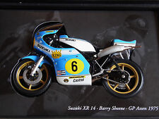 Suzuki XR 14 Sheene GP Assen 1975 Minichamps 1/12 Classic Bike 122750006 ovp #6