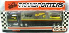 NIP 1992 MATCHBOX Super Star-Transporters-Black #CY-110 Diecast-Penske Semi-Thai