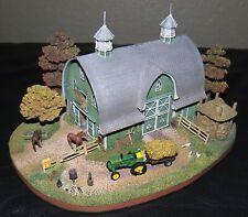 Danbury Mint Clover Hill Farm John Deere Tractor Collectible Original Box & Coa