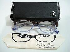 Lisa Loeb Eyewear Come Back 143 C1 Mocha Mauve Eyeglasses Rx-Able Frame