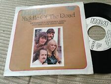 """MIDDLE OF THE ROAD SPANISH 7"""" SINGLE SPAIN WHITE LABEL SACRAMENTO LOVE SWEET"""