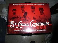 2011 MLB Major League Baseball St. Louis Cardinals Wall Calendar