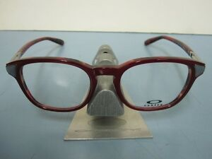 OAKLEY womens MISLEAD red mosaic RX eyeglass frame OX1107-0548  NEW in O case