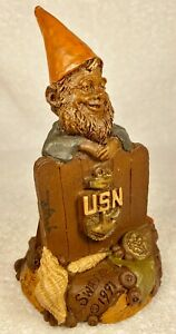 SWABBIE-R 1991~Tom Clark Gnome~Cairn Item #5139~Ed 80~Hand Signed~Story Included