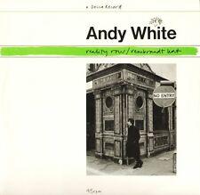 "ANDY WHITE reality row FX 100 uk decca 1986 12"" PS EX/EX"