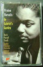 Wynton Marsalis:  In Gabriel's Garden (Cassette, Sony) NEW
