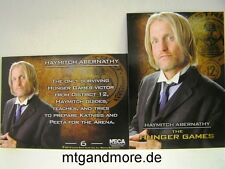 The Hunger Games Movie Trading Card - 1x #006 Haymitch Abernathy