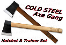Cold Steel Axe Gang Hatchet + Trainer COMBO 90AXG BKAXG