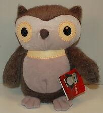 2012 Aesop's Fables Gray Grey Owl Plush Stuffed Animal Kohl's Cares For Kids
