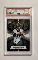 CARSON WENTZ 2016 Donruss Optic X-Factor Rookie #156 Rookie RC PSA 10 GEM MINT