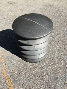 """ErgoErgo Ergonomic Stool for Active Sitting, Large Adult 20.5"""" (Black)"""