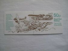 More details for 50p stamp book cover - aeroplanes, peter hutton