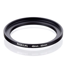 48mm to 55mm 48-55 48-55mm48mm-55mm Stepping Step Up Filter Ring Adapter