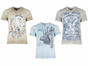 Stockerpoint Herren Trachten T-Shirt vers. Modelle Gr S bis XXL T-Shirts Herren