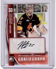 MICHAEL GIUGOVAZ /14 ITG BTP Between Pipes Goaliegraph Rookie Auto Autograph #MG