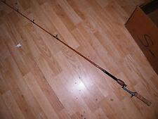 "Beautiful Custom Heddon Pal Cork Handle 5'6"" Med Heavy Casting Rod one piece."