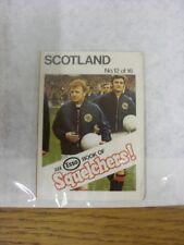 1970/1971 Esso: Squelchers - 12 Scotland, An Esso Mini-Book 16 Issued In Complet