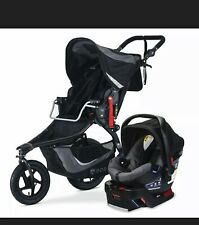 BOB Revolution Flex 3.0 Travel System Stroller w B-Safe 35 Car Seat Graphite BLK