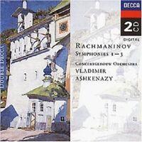VLADIMIR/CGO ASHKENAZY - SÄMTLICHE SINFONIEN 1-3 (GA) 2 CD NEW!