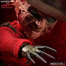 Mezco Living Dead Dolls Talking Freddy Krueger Doll, Mint In Box